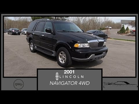 2001 Lincoln Navigator 4WD|Walk Around Video|In Depth Review|Test Drive