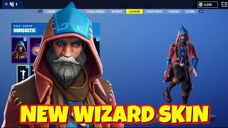 LEAKED NEW WIZARD SKIN IN-GAME FORTNITE