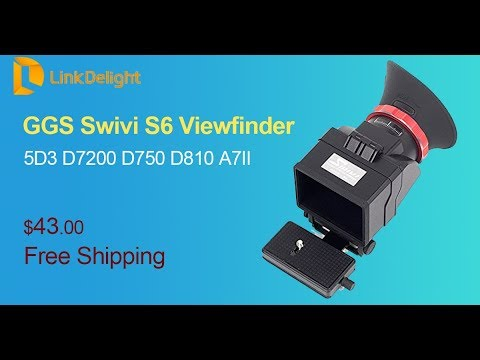 How To Install GGS Swivi S6 Viewfinder To Your Camera -- Linkdelight.com