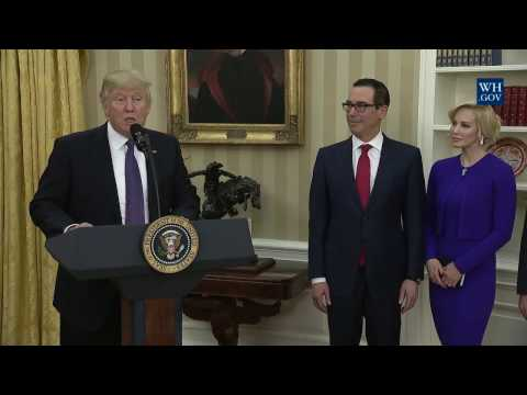 Swearing-In Ceremony of the Secretary of Treasury
