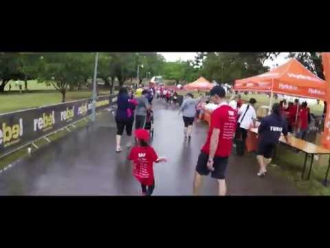 Highlights of the Brisbane Times City2South Fun Run 2015