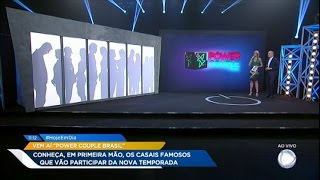 Conheça os casais participantes da segunda temporada do Power Couple Brasil