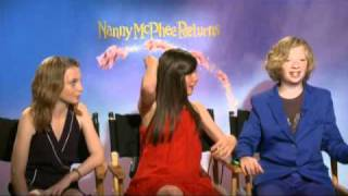 Interview Part 2 with Lil Woods, Eros Vlahos and Rosie Taylor for Nanny McPhee Returns