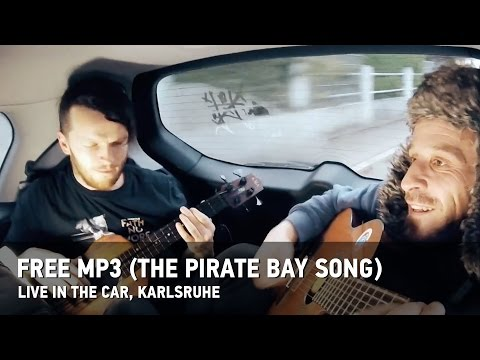 "Dubioza kolektiv ""Free MP3 (The Pirate bay Song)"" – Claustrophobic car version"