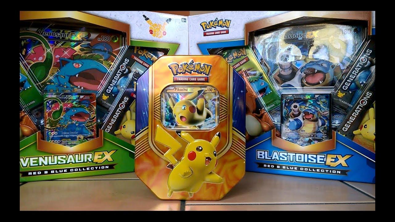 Pokemon Karten Pikachu Ex.Pokemonkarten Pikachu Ex Tin Opening Deutsch