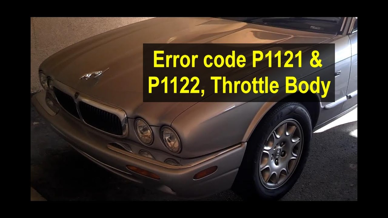 Throttle Body Connector Clean For Error Code P1121 And P1122 Jaguar