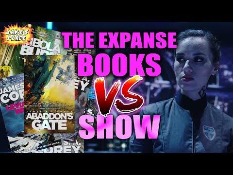 The expanse books vs show