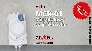 MCR-01 Mikrofalowy czujnik ruchu Zamel exta