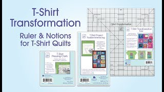June Tailor T-Shirt Quilting Ruler and Products