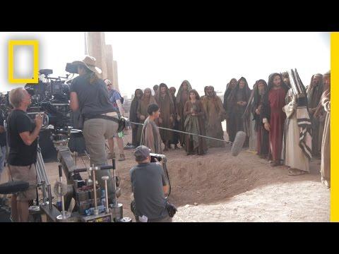 Filming in Morocco | Killing Jesus
