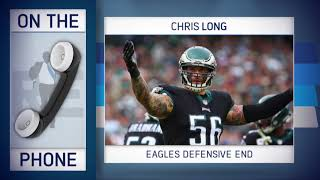 Eagles DE Chris Long Refutes Patriots