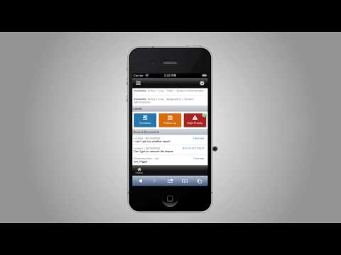 How to Navigate the ServiceNow Smartphone Interface