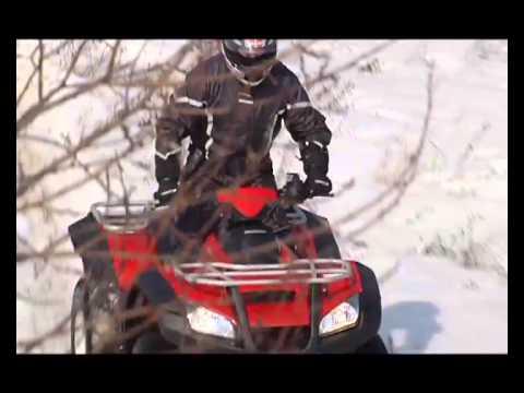 Наши тесты - Квадроцикл Honda TRX 680
