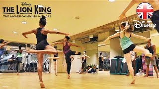 THE LION KING MUSICAL | Weekly Dance Class With the West End Cast! | Official Disney UK