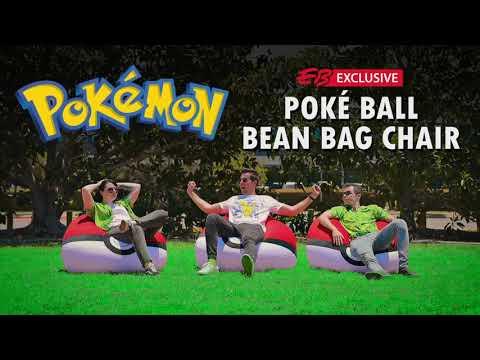Pokemon - Poke Ball Bean Bag Chair - Video