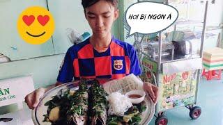 Phúc vlogs |  làm cá lóc nướng cuốn bánh tráng tránh mùa dịch bệnh