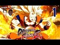 Let's Play Dragon Ball FighterZ Gameplay Story Mode Walkthrough Blind Part 1 - Goku Possessed!
