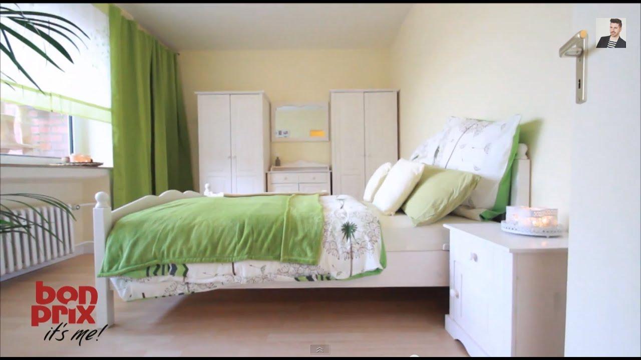 Schlafzimmer Einrichten Homestyling Folge 1 #bonprix & #Wohnprinz KOOPERATION - YouTube
