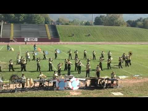 Fort Chiswell High School Marching Band - George Wythe Band Competition 2016