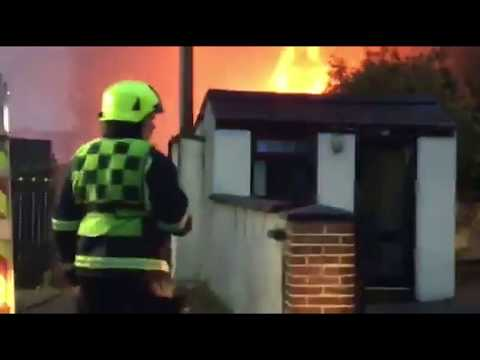 FIRE: Major Fire at Cassidy Car Parts Dunleer County Louth