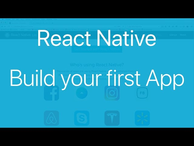 React Native tutorial v0.49