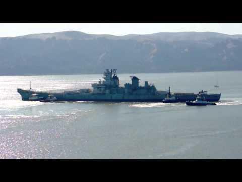Tug Boat Shuffle - USS Iowa