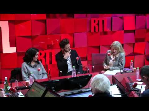 Stéphane Bern reçoit Jenifer et Christophe Maé dans A La Bonne Heure du 02-02-2015 Partie 2 - RTL
