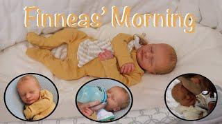 Morning Routine Of Newborn Baby Finneas Reborn Roleplay Kelli Maple