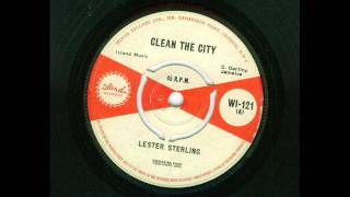 lester sterling -clean the city (island 121  1963 )