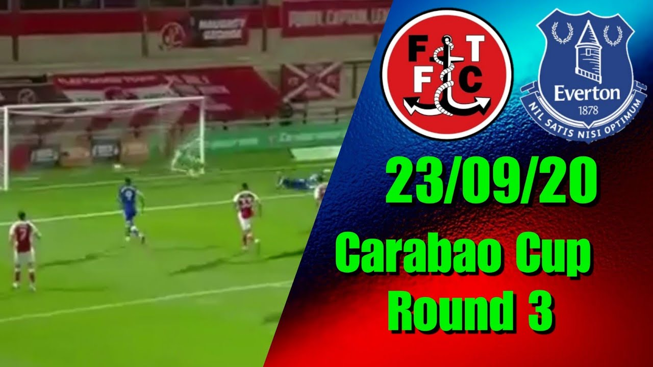 Download Pickford Makes 2 Howlers In 7 GOAL THRILLER   Fleetwood 2-5 Everton   Carabao Cup Round 3 highlights