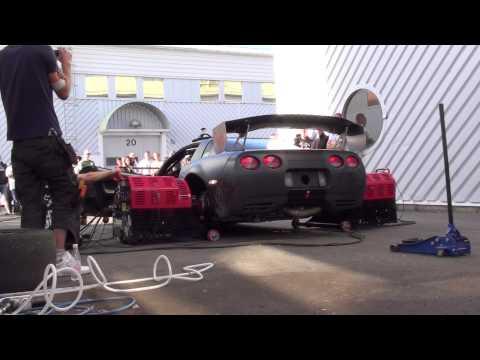 Team Insane Racing Corvette dyno