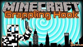 Minecraft | GRAPPLING HOOK MOD FOR MINECRAFT 1.8 | Sorenus Mods 204