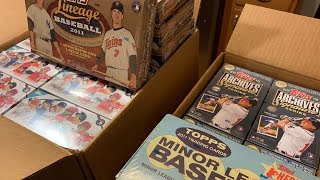 AMAZING CASE OF 2018 TOPPS SIGNATURE SERIES! (and Topps Big League and Lineage too)