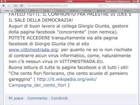 Auguri alla nuova pagina facebook AIFVS di Giorgio Giunta!