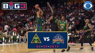 Rashard Lewis STILL GOT IT | Aliens vs. 3 Headed Monsters | BIG 3 Recap | CBS Sports HQ