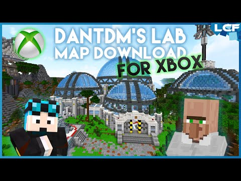 DanTDM's New Lab - MAP DOWNLOAD (XBOX version!) - YouTube on