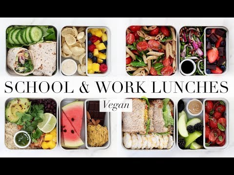 School & Work Lunches #6 (Vegan/Plant-based) AD | JessBeautician
