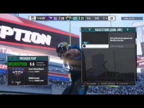 Madden NFL 18 Paul Posluszny INT
