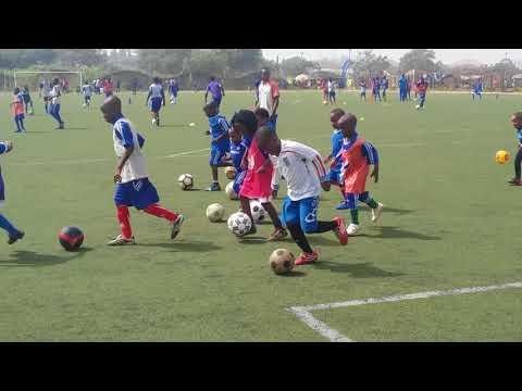 Pepsi football Academy Abuja Taiwo & Kenny