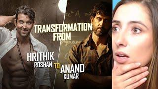 HRITHIK ROSHAN to ANAND KUMAR Transformation | Super 30 Reaction