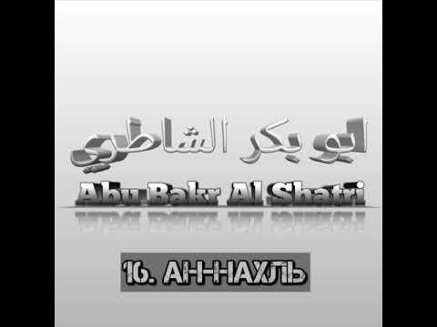 Абу Бакр Аш-Шатри сура 16 Ан-Нахль