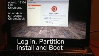 Step 3 How to install ubuntu ChrUbuntu on Acer C7 Chromebook