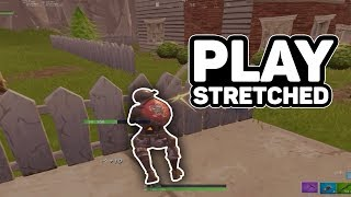 HOW TO FIX WINDOWED STRETCHED RESOLUTION IN FORTNITE