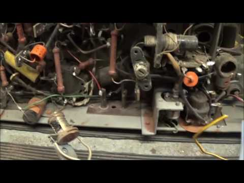 Vintage Radio Repair and Restoration of a Philips 768A-14 (1941/42) part 1