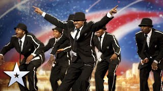Unforgettable Audition: A truly FLAWLESS dance routine!   Britain's Got Talent Thumb