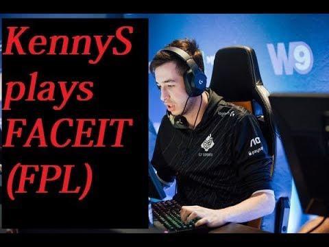 POV - KennyS (G2) plays FACEIT Pro League /w rain, shox, jackz