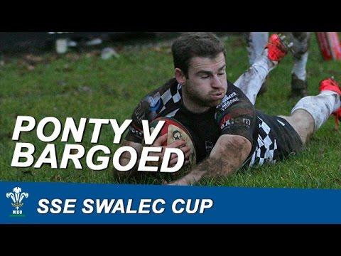 SSE SWALEC Cup: Pontypridd RFC v Bargoed RFC | WRU TV