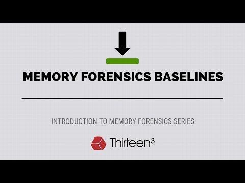 Memory Forensics Baselines