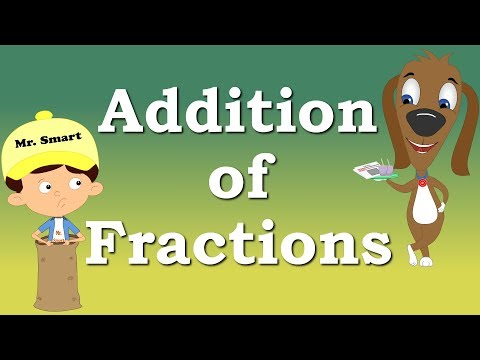Addition of Fractions for Kids | #aumsum #kids #education #science #learn
