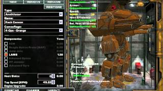 MW4: Mercenaries - Mech Builds (Annihilator, Bushwacker)